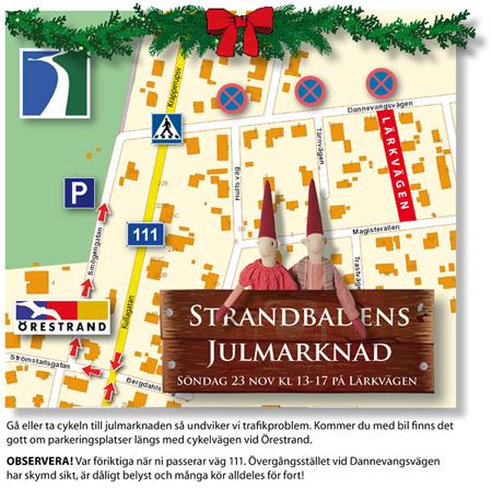 Strandbadens Julmarknad 2014