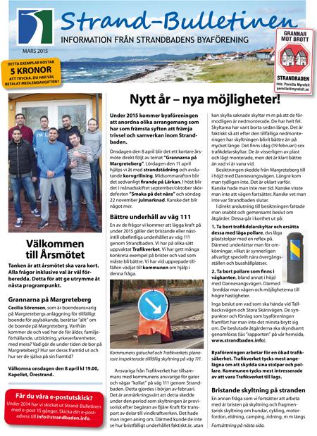 Strand-Bulletinen 1-2015_sid 1