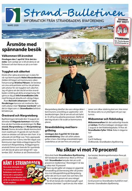 Strand-Bulletinen 1-2020_sid 1_450